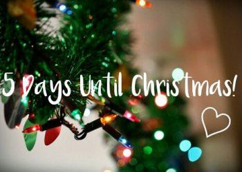 5 days till xmas