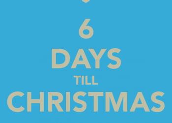 6 days till xmas
